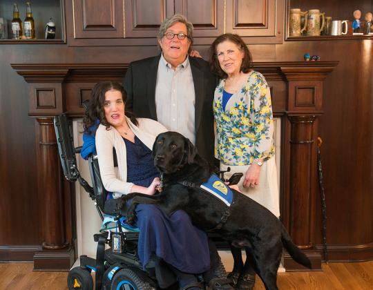 Gift brings new hope to patients and families affected by central nervous system disorders