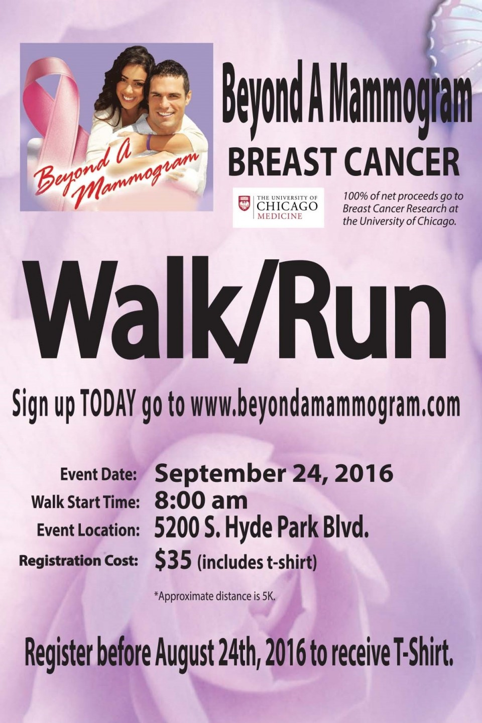 Beyond a Mammogram Breast Cancer Walk/Run