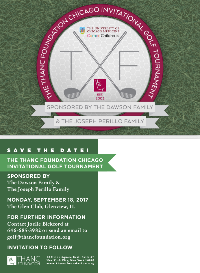 The THANC Foundation Invitational Golf Tournament benefiting the University of Chicago Medicine Comer Children's Hospital